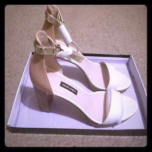 New Dempsey Open Toe Sandals (never worn)